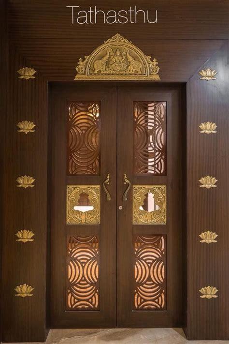 devghar doors room door design pooja room door design