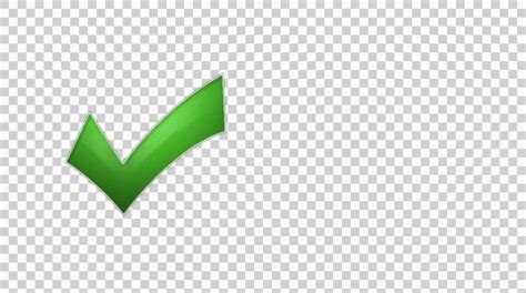 Check Transparent Background Checkmark Green 1 Gloss Phone Button Animation With Transparent Background Footage