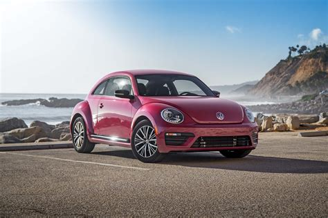 pink volkswagen beetle 2017 7 things to know about the 2017 volkswagen pinkbeetle