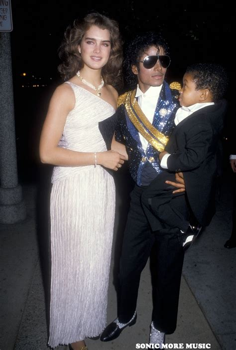brooke shields michael jackson sonic more music photo michael jackson the grammys