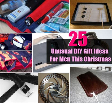 25 unusual diy gift ideas for men this christmas diy