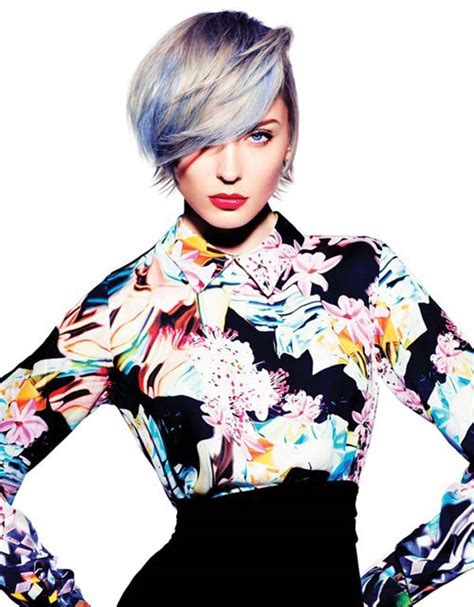 tony and guys ladies short hairstyles pastel colored pixie cuts that prove fairy hair is better
