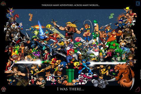 Video Game Characters Poster by whittingtonrhett on DeviantArt