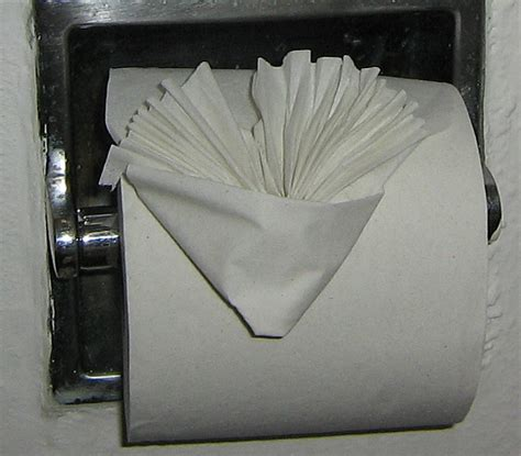 How To Fold Toilet Paper - hotel toilet paper folding