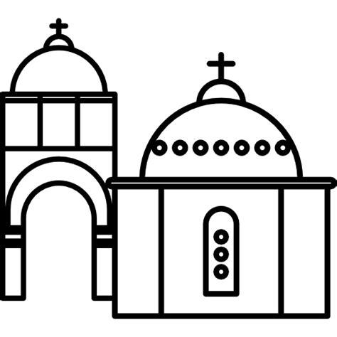 imagenes de iglesias blanco y negro iglesias con c 250 pulas azules iconos gratis de monumentos