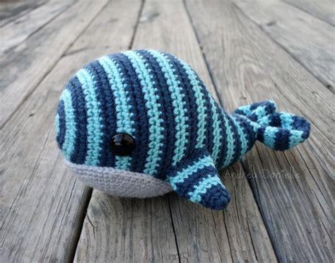 pattern crochet whale will the whale crochet amigurumi plush aqua blue