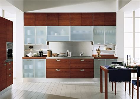 kitchen glass designs glass cabinet shutter for your modular kitchen designwud