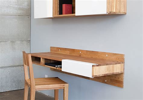 Wall Mounted Desk Ideas 5 Ideas To Organize Compact Workspace At Home Digsdigs