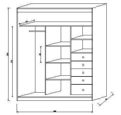 dise a tu armario dimensiones armario 28 images armario organizador