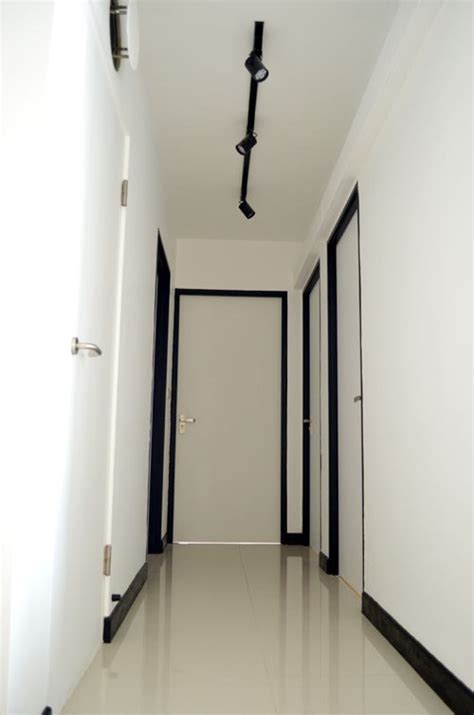 Track lights along the corridor pig sty furniture pinterest corridor lights and living rooms