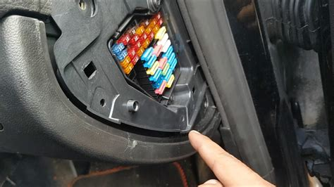 change fuel pump relay  seat leon mk youtube