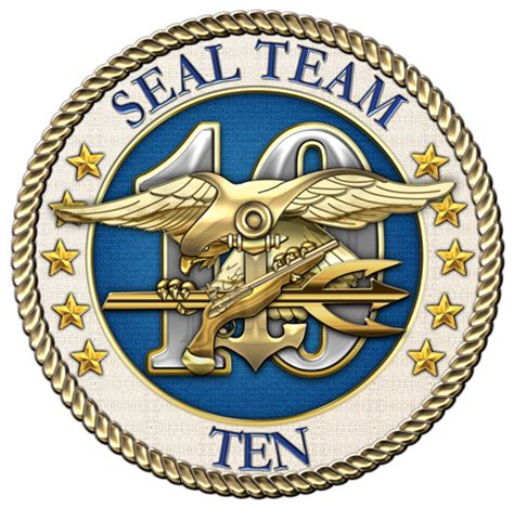 Seal Team 10 Patch insignia 3d u s navy seals