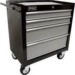 Rolling Cabinet With Drawers homak se series 27in 4 drawer rolling tool cabinet black 27in w x 18 3 8in d x 31 3 8in h