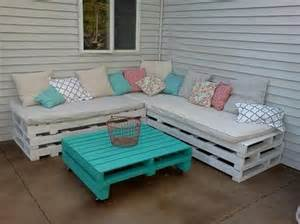 Diy Pallet Patio Furniture Pallet Outdoor Furniture Plans Recycled Things