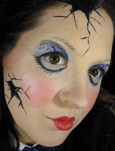 cracked porcelain doll makeup 30 best doll makeup images on carnivals