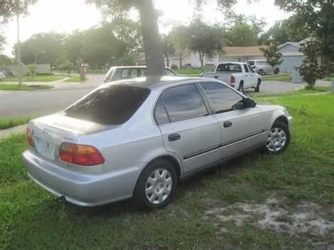 find used 1999 honda civic lx sedan 4 door 1 6l in winter