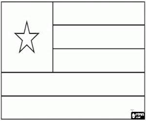 flags of countries of africa coloring pages printable games