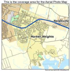 aerial photography map of harker heights tx