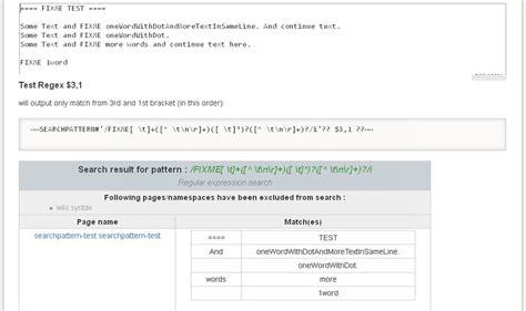 list pattern matching todo plugin f 252 r dokuwiki