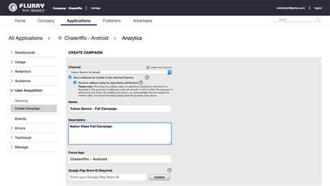 yahoo email retention policy flurry analytics yahoo developer network