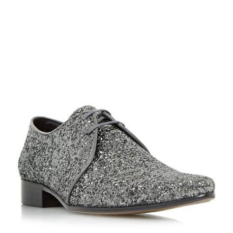 Dune Vs Louboutin by Lyst Dune Ricky M Glitter Derby Shoes In Metallic For