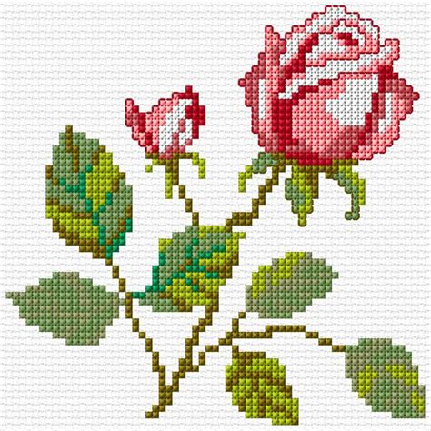 embroidery design cross stitch embroidery flower free pattern 171 embroidery origami