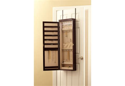 over door jewelry armoire over the door jewelry armoire sharper image
