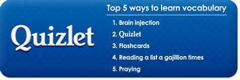 What Might You Use To Detox From Quizlet by Quizlet My So Much Easier Mademoiselle Dell
