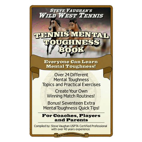 mental toughness mental for strength and fitness books west tennis everyone can learn mental toughness book