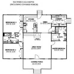 great floor plans home plans with great room designing house plans with