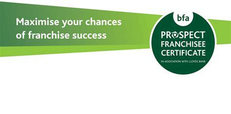 maximise your chances of franchise success