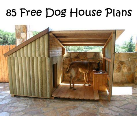 free dog house blueprints pets archives simple home diy ideas