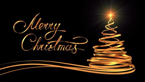 writing golden ribbon text merry stock footage video  royalty   shutterstock