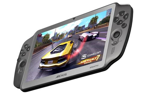 android gaming tablet archos gamepad an android tablet with physical gaming buttons
