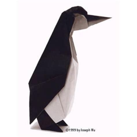 Origami Penguin - joseph wu s origami page