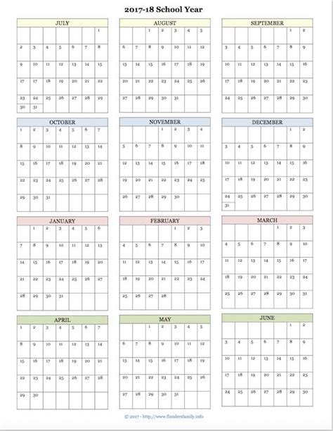 The August Deadline For The Whole Work Situation L by The Best Free Printable Academic Calendar For 2017 2018
