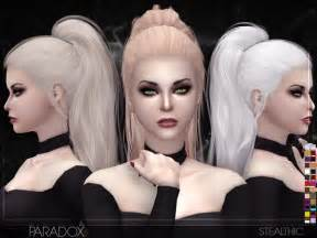 cc hair for sism4 stealthic paradox female hair sims 4 updates