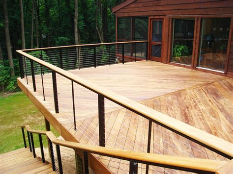 Cheap Banister Ideas by Exceptional Cheap Deck Railing 10 Inexpensive Deck Railing Ideas Newsonair Org