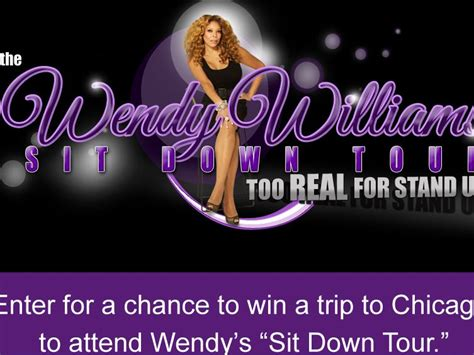 Wendy Williams Vacation Giveaway - wendy williams sit down tour sweepstakes sweepstakes fanatics
