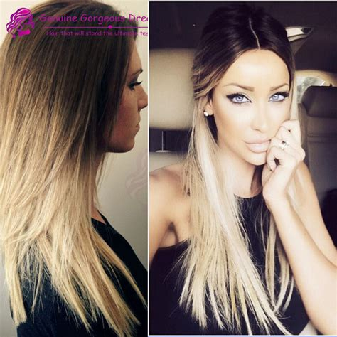 black roots blonde hair medium length blonde hair newhairstylesformen2014 com
