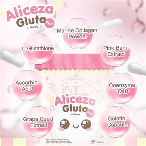 Gluta Aliceza aliceza gluta by nanny whitening anti aging