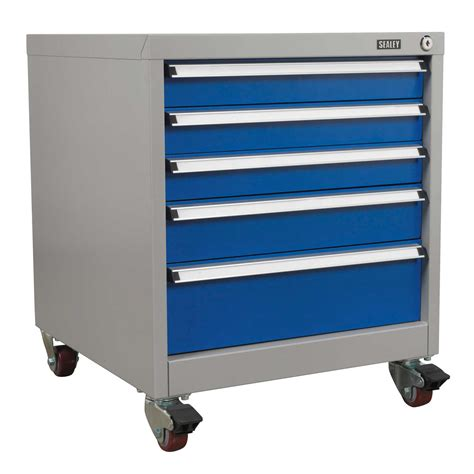 garage storage drawers uk sealey heavy duty mobile industrial garage storage cabinet