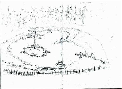 disegni giardini pavimentazione giardino disegno sogno immagine spaziale