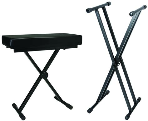 piano stand and bench keyboard stand and bench package instrument stands