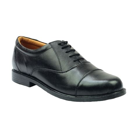 amblers leather oxford non safety shoes