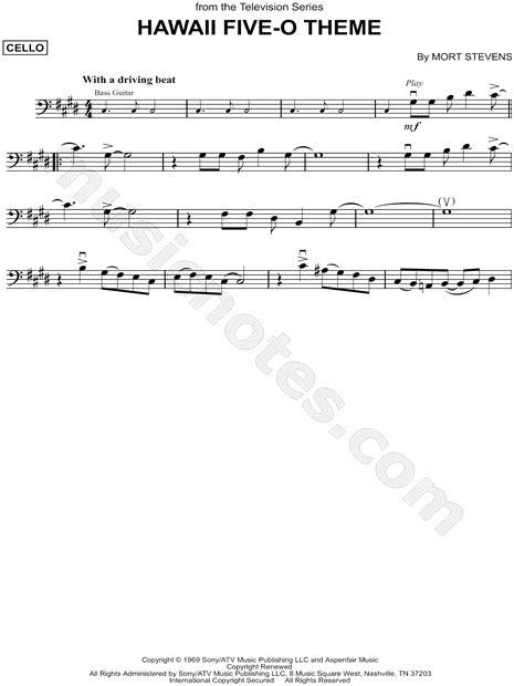 theme song hawaii five o quot hawaii five o theme quot from hawaii five o sheet music