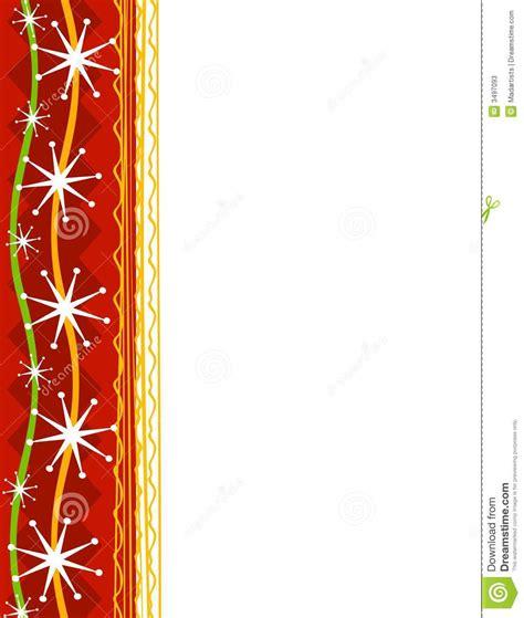 decorative christmas border 1 stock photos image 3497093