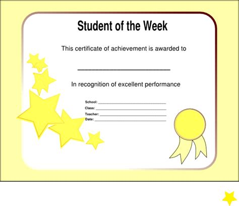 Clip Of The Week by Student Of The Week Realigned Clip At Clker