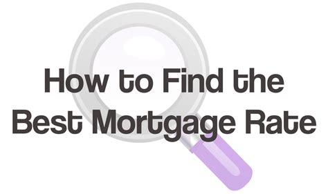 best mortgage how to find the best mortgage rate and what not to do