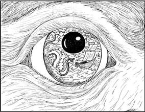 surrealism colouring pages